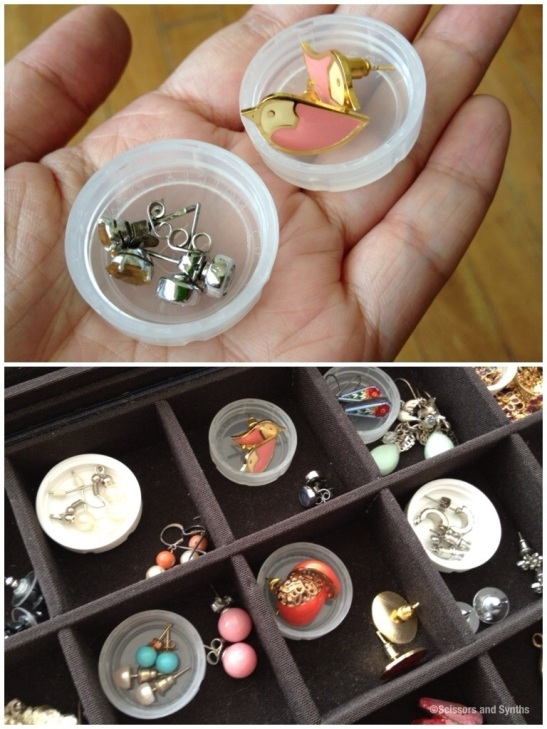 Repurpose lens cases on Scissors and Synths