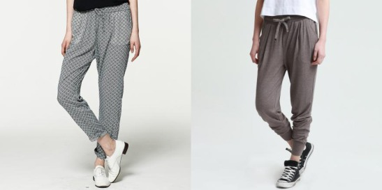basic house printed trousers