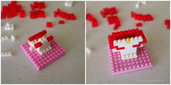 My Melody and Hello Kitty LOZ Diamond Blocks - Scissors and Synths