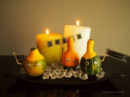 Halloween Mini Pumpkins at Scissors and Synths