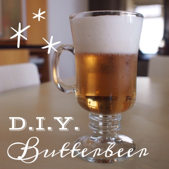DIY Butterbeer at Scissors and Synths