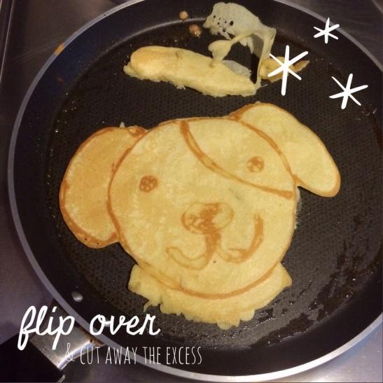 Flip the pancake
